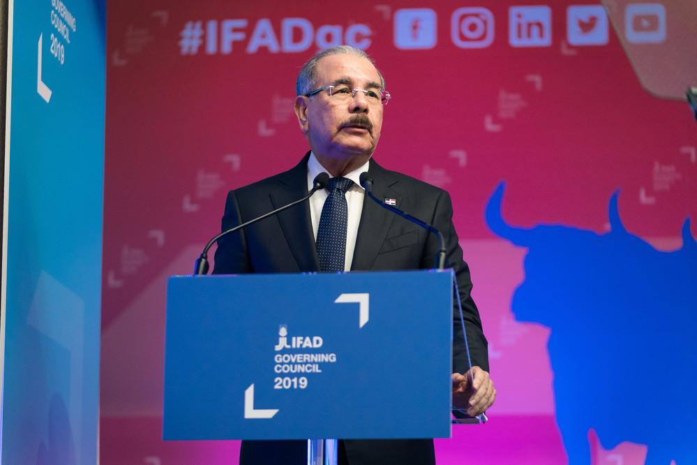 Danilo Medina Sánchez, Président de la République dominicaine